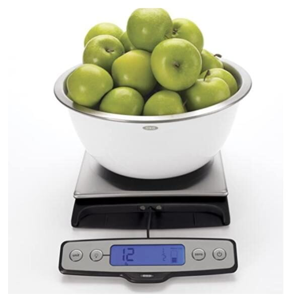 OXO Good Grips 22-Pound Stainless Steel