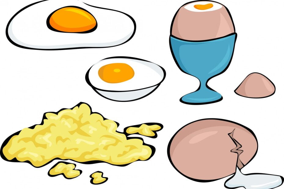 how many carbs in eggs